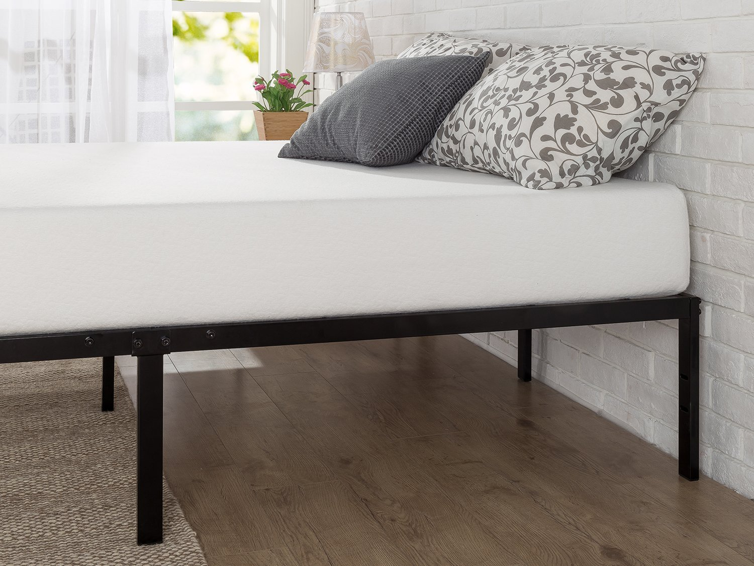 zinus platform bed instructions pdf