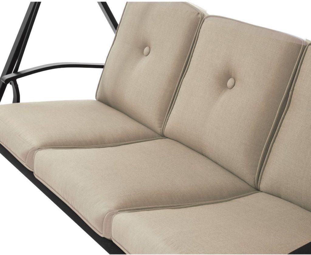 Mainstay* 3 Seat Porch & Patio Swing (Tan)