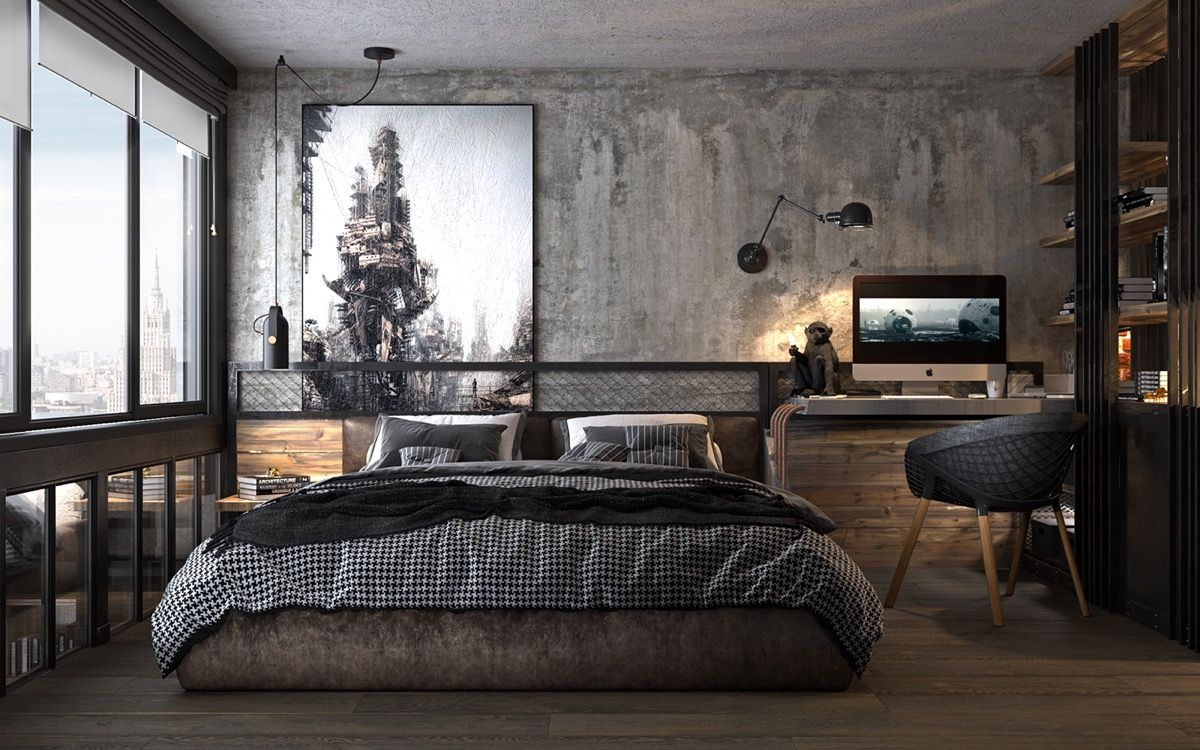 130 Popular Industrial Bedroom Ideas And Design Tips You Don T Want To Miss